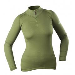 Koszulka termoaktywna damska z golfem (902-D)