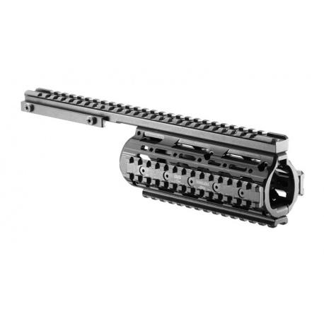 System szyn montażowych FAB VFR do M16 - aluminiowe