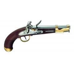 Pistolet skałkowy AN IX kal. 17,5 mm