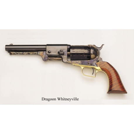 "Rewolwer Dragoon 1848 ""Whitneyville"" kaliber .44 - wersja czarna podstawowa"