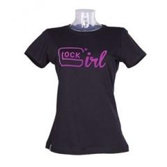 T-shirt Glock Girl