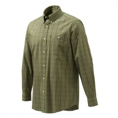 Koszula Beretta Drip Dry Dark Green Check LU51