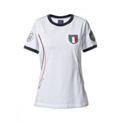 T-shirt Beretta Damski TSB20 Pro ITALIA White & Blue Navy