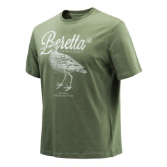 T-shirt Beretta Woodcock Army Green (78K)