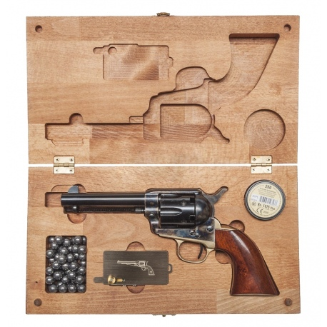 Skrzynia Drewniana na Broń Colt Cattleman