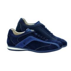 Buty sportowe Beretta UNIFORM SUEDE NAVY - LIGHT NAVY SC031