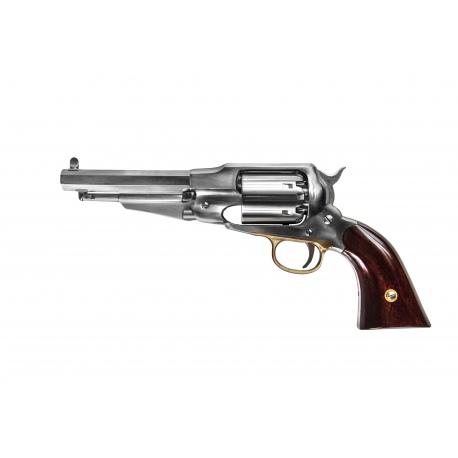 """Rewolwer New Army 1858  """"Remington"""" - kolor srebrny (nierdzewny) 5,5 cala"""