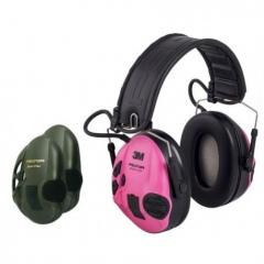 Aktywne ochronniki słuchu Peltor™ SportTac™  (RÓŻOWY/ZIELONY)