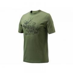 //T-SHIRT BERETTA TS322/73T/ - Moose Engraving