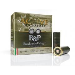 //12/65 NB.ŚRUT. ACTIVE BUCKSHOT PRACTICAL SHOOTING  B&P