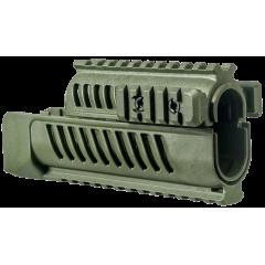 System szyn montażowych FAB SA-58 Zielony