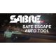 Gaz pieprzowy w żelu SABRE Red Safe Escape 3-in-1 Automotive Tool z wybijakiem do szyb i nożem do pasów SE-BK-01