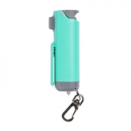Gaz pieprzowy w żelu SABRE Red Safe Escape 3-in-1 Automotive Tool z wybijakiem do szyb i nożem do pasów SE-MT-01