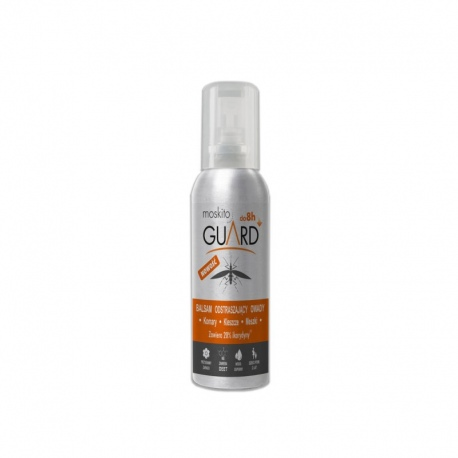 Balsam odstraszający komary Moskito Guard z atomizerem 75 ml