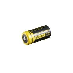 Baterie Nitecore RCR123A NL166