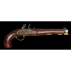 Pistolet Kentucky Flintlock kaliber .45