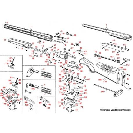 Sprężyna Beretta C90143