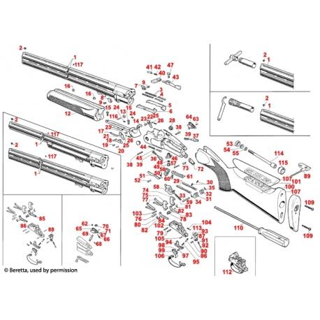 Część Beretta E00211