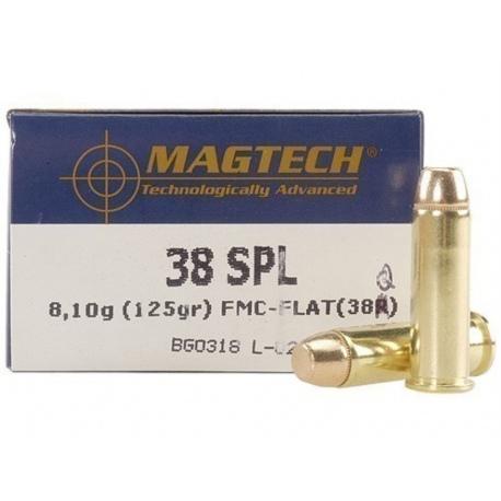 Amunicja Magtech .38 FMJ 38Q
