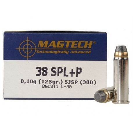 Amunicja Magtech .38 SJSP 38D
