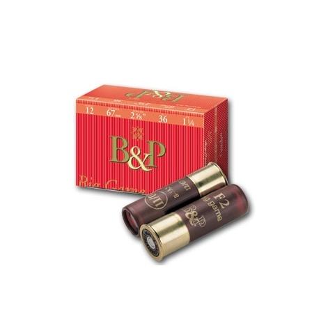 Amunicja myśliwska śrutowa B&P 4 Big Game Zerati 12/67