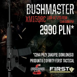 Promocja Bushmaster i First Tactical